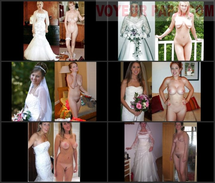 Dressed undressed brides slideshow.1