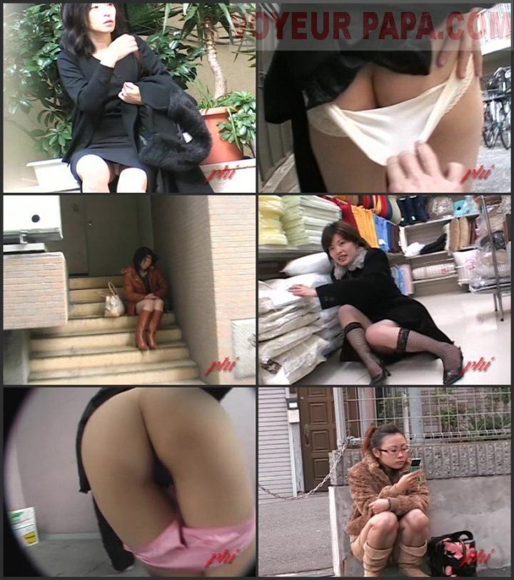 Jade Phi – P6-04 – Upskirt and Aggressive Panty Pulling Pussy Peeks 3