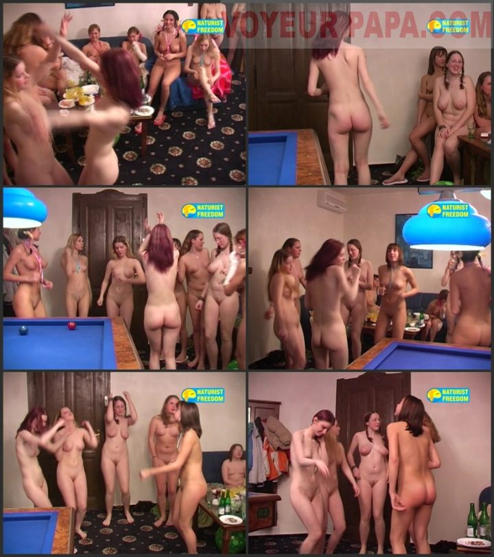 Family Pure Nudism Girls Pool Party 3
