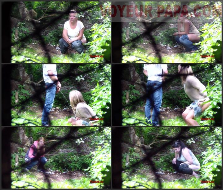 Women Pee In The Bushes 49