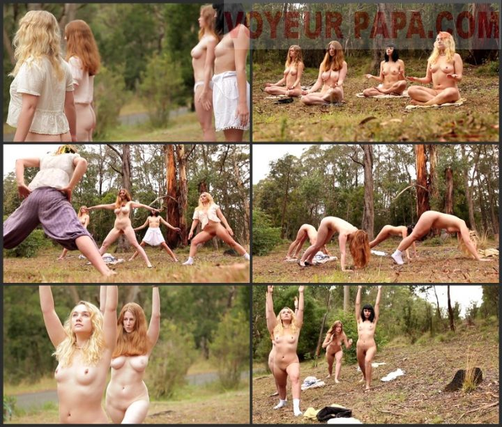 Shameless Girls in Nature