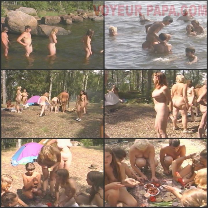 Family Pure Nudism A Day Of Camping