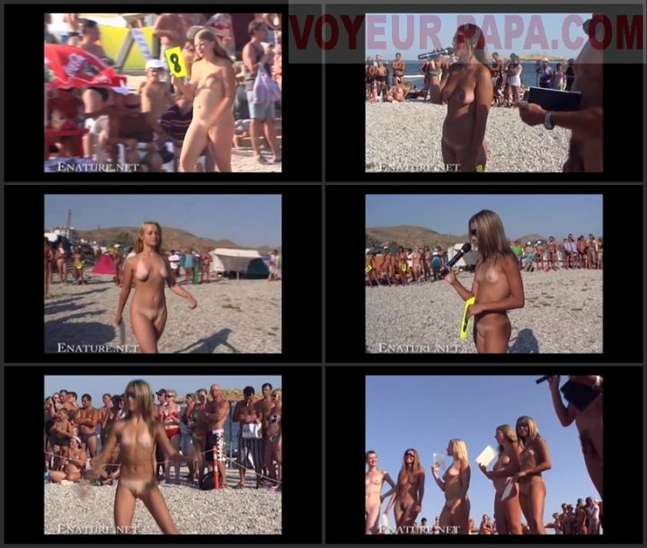 Family Pure Nudism Family Beach Pageant.Part 2