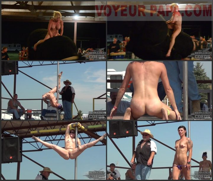 Conesville Tits Biker Rally Topless Bull Riding and Amateur Contest