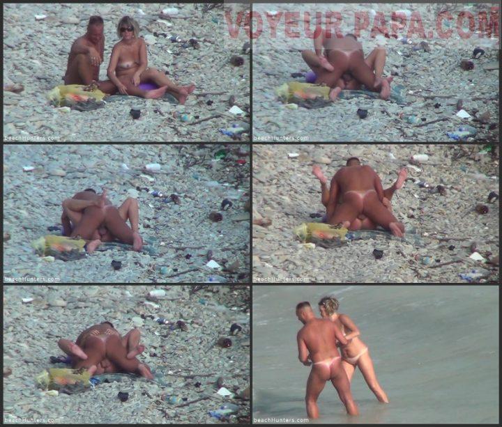Sexe at the beach